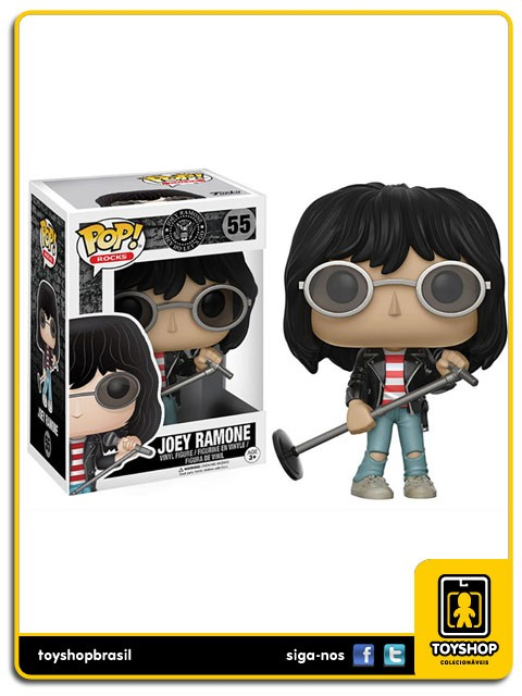 Rocks Joey Ramone Pop 55 Funko