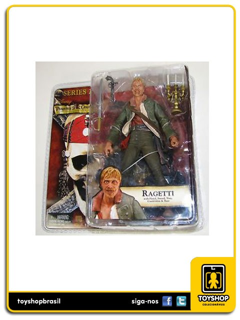 Pirates of the Caribbean série 2 Ragetti  Neca
