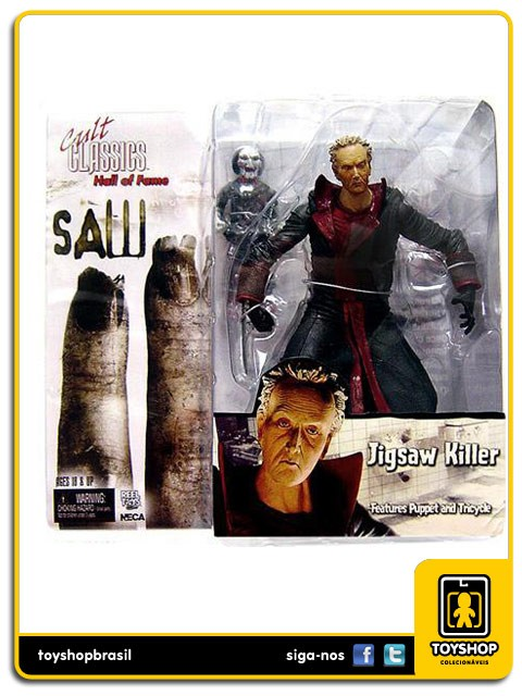 Cult Classics Hall of Fame Saw II Jigsaw Killer Neca