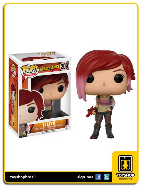 Borderlands Lilith 209 Pop  Funko