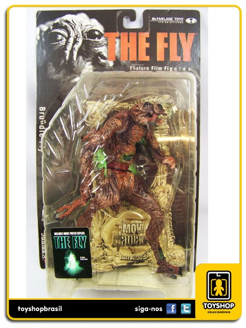 Movie Maniacs Brundle Fly Mcfarlane