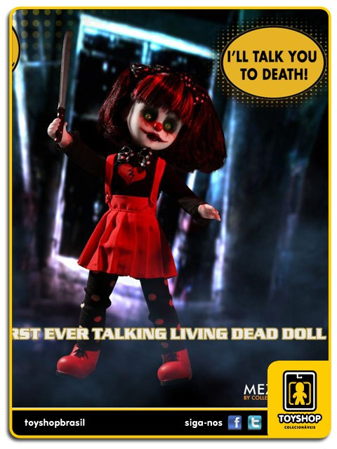 Living Dead Dolls Resurrection Talking Cuddles SDCC  Mezco