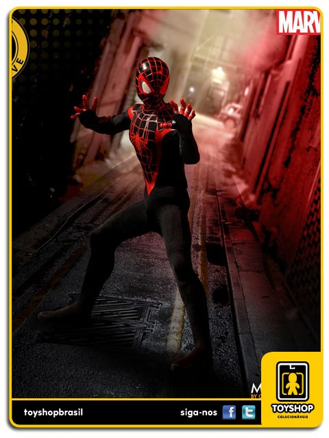 Marvel The Miles Morales Spider-Man SDCC One 12 Mezco