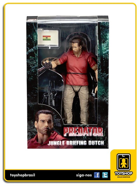 Predator Jungle Briefing Dutch SDCC  Neca
