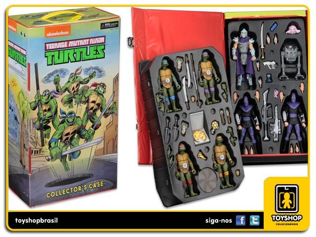 Teenage Mutant Ninja Turtles Colleclor´s Case SDCC Neca