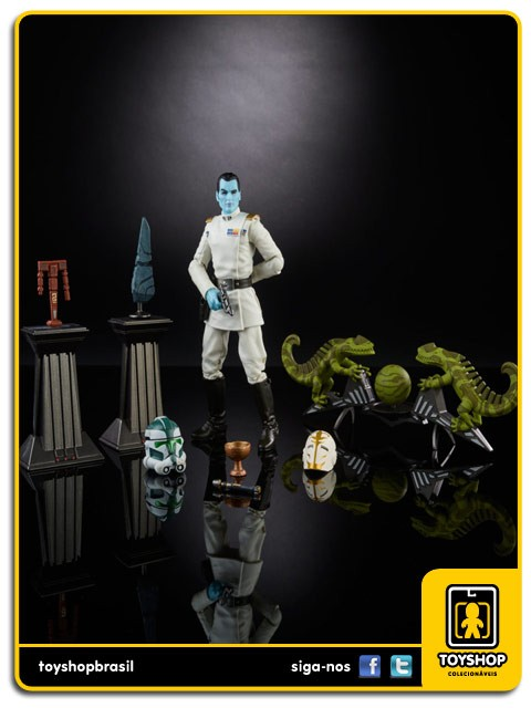 Star Wars The Black Series  Grand Admiral Thrawn SDCC Hasbro