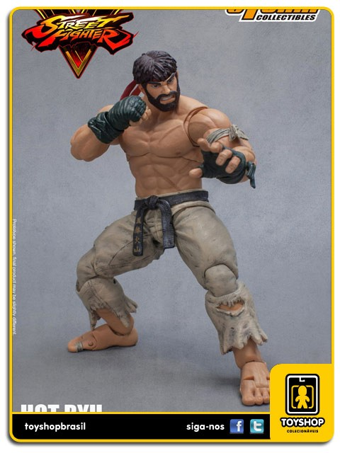 Street Fighter V  Hot Ryu 1/12 SDCC Storm Collectibles