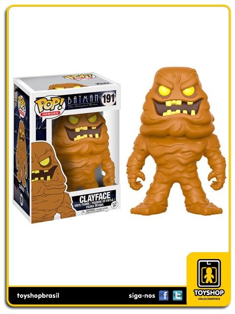 Batman The Animated Series Clayface 191 Pop Funko