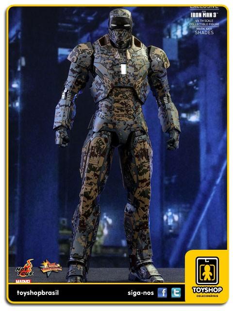 Iron Man 3 Iron Man Mark XXIII Shades Exclusive Hot Toys
