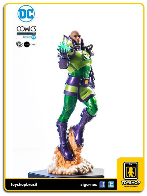 DC Comics Série 2 Lex Luthor  1/10 Art Scale By Ivan Reis  Iron Studios