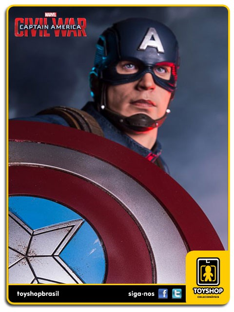 Captain America Civil War Captain America Legacy 1/4 - Iron Studios
