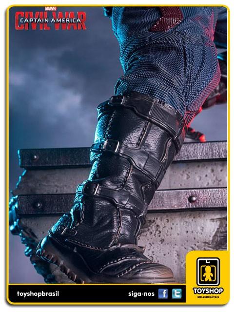 Captain America Civil War Captain America Legacy 1/4 - Iron Studios