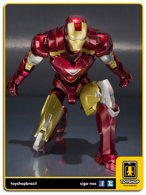 Iron Man II S.H. Figuarts Iron Man Mark VI and Hall of Armor  Bandai