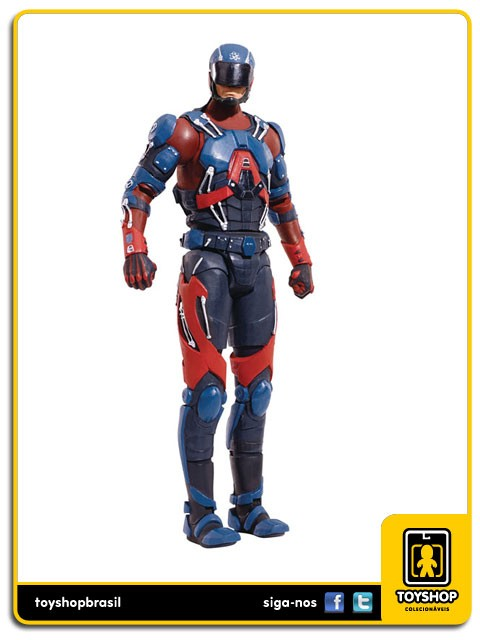 Dc Comics Multiverse The Atom Rookie Baf Mattel