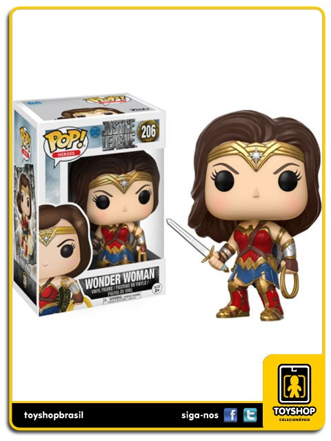 Justice League Wonder Woman 206 Pop  Funko