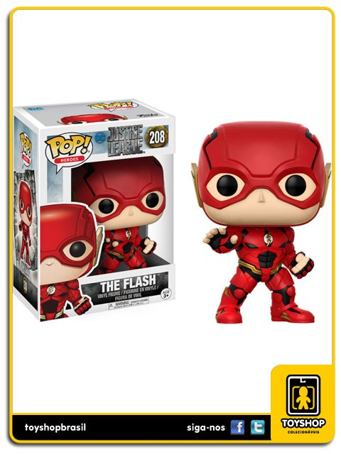 Justice League The Flash 208 Pop  Funko