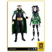 Dc Universe Young Justice: Ra´s Al Ghul & Cheshire - Mattel
