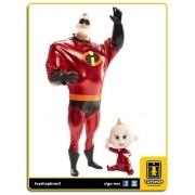 Disney Pixar Incredibles 2 Mr.Incredible & Jack-Jack Jakks Pacific