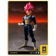 Dragon Ball Z S.H. Figuarts Super Saiyan God Vegeta Bandai