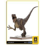 Jurassic Park Estátua Velociraptor Attacking Art Scale 1/10 Iron Studios