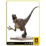 Jurassic Park Estátua Velociraptor Attacking Art Scale 1/10 Iron Studios