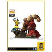 Marvel Comics Wolverine vs Juggernaut 1/6 Battle Diorama Iron Studios