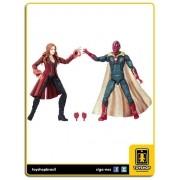 Marvel Legends Avengers Infinity War Scarlet Witch & Marvel' s Vision Hasbro