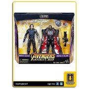 Marvel Legends Avengers Infinity War  Winter Soldier & Falcon Hasbro