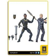 Marvel Legends Black Panther Everett Ross & Erik Killmonger Pack 2 Figuras  Hasbro