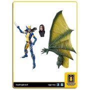 Marvel Legends X-Men Wolverine X-23  Sauron Baf Hasbro