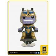 Marvel Studios 10th Thanos & Trono Hot Topic 331 Pop Funko