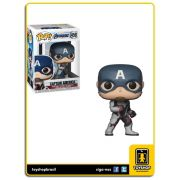 Marvel Vingadores Ultimato Captain America 450 Pop Funko