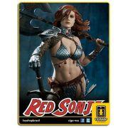 Queen of Scavangers Premium Format Estátua Red Sonja Sideshow Collectibles