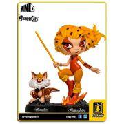 Thundercats Classic Boneco Cheetara & Snarf Minico Iron Studios