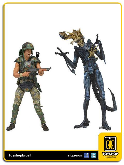 Aliens: Corporal Dwayne Hicks vs Xenomorph Warrior - Neca