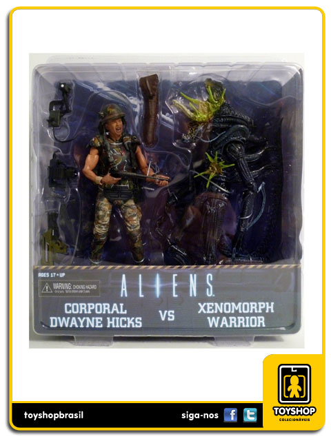 Aliens: Corporal Dwayne Hicks vs Xenomorph Warrior - Neca