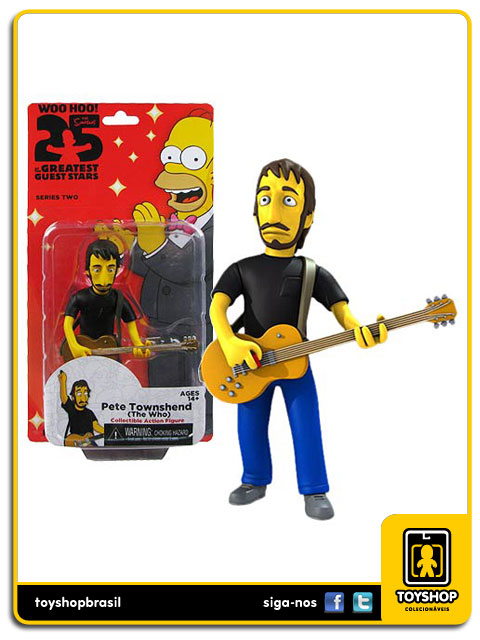 The Simpsons 25th Anniversary: The Who Pete Townshend  - Neca
