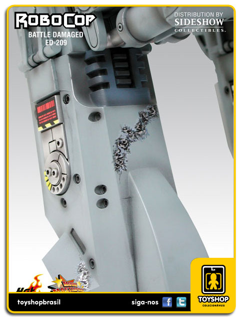 RoboCop: Battle Damaged Ed-209 - Hot Toys