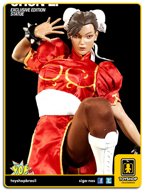 Street Fighter: Estátua Chun-Li Exclusiva - Pop Culture