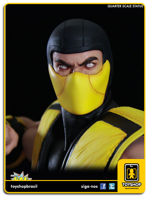 Mortal Kombat Klassic: Estátua Scorpion 1/4 - Pop Culture