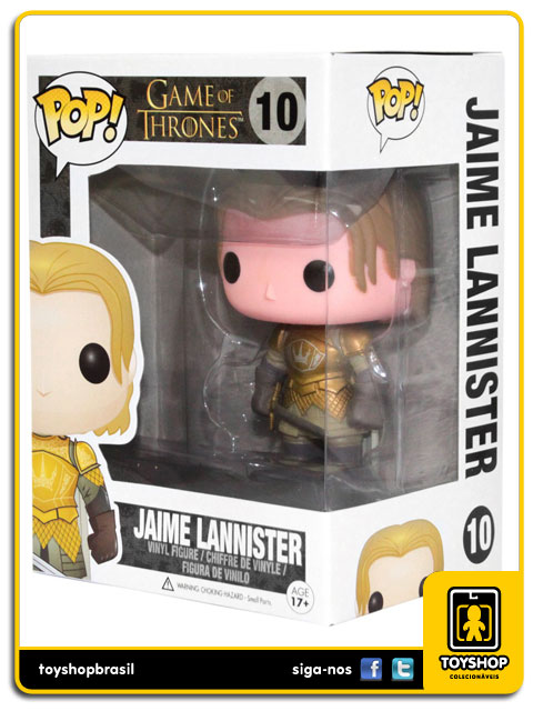 Game Of Thrones: Jaime Lannister Pop - Funko