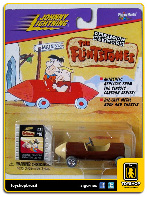 The Flintstones: Barney Rubble´s Sports Car - Johnny Lightning