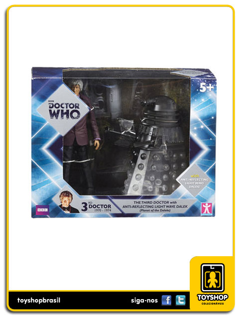 Doctor Who: The Third Doctor with Anti-Reflective Dalek - Character