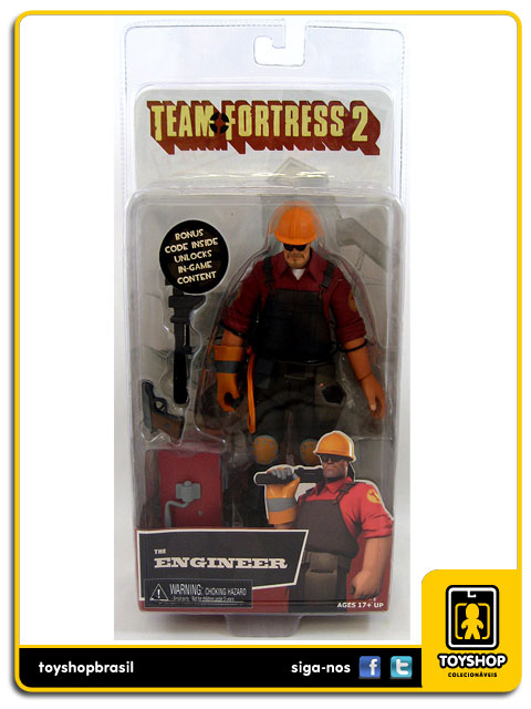 Team Fortress 2: The Engineer - Neca