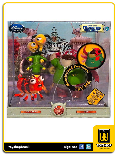 Monsters University: Terry & Terry and Don - Disney Store