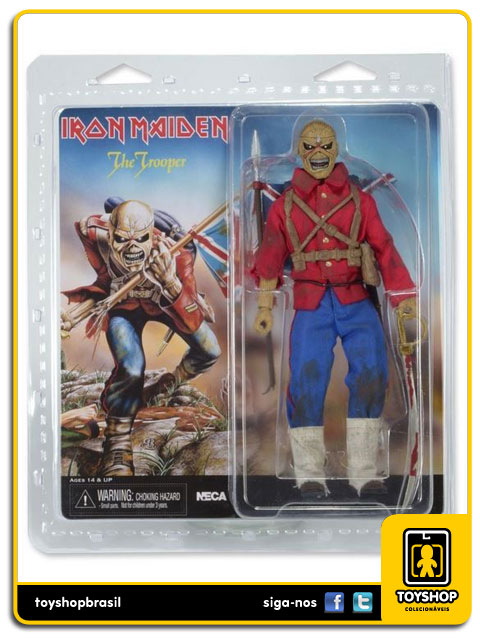 Iron Maiden: Eddie The Trooper - Neca