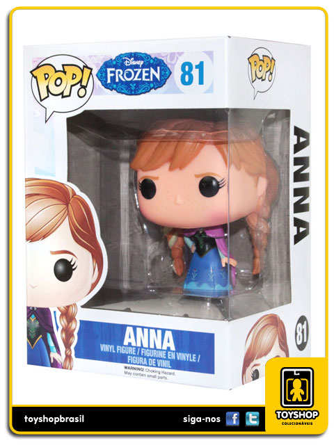 Frozen: Anna Pop - Funko