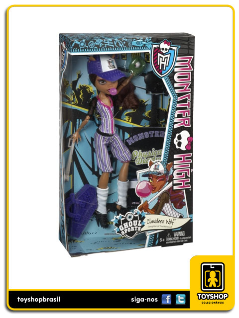 Monster High: Clawdeen Wolf - Mattel