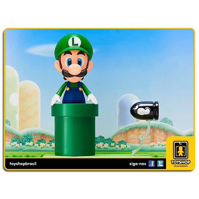 Super Mario: Luigi Nendoroid - Max Factory