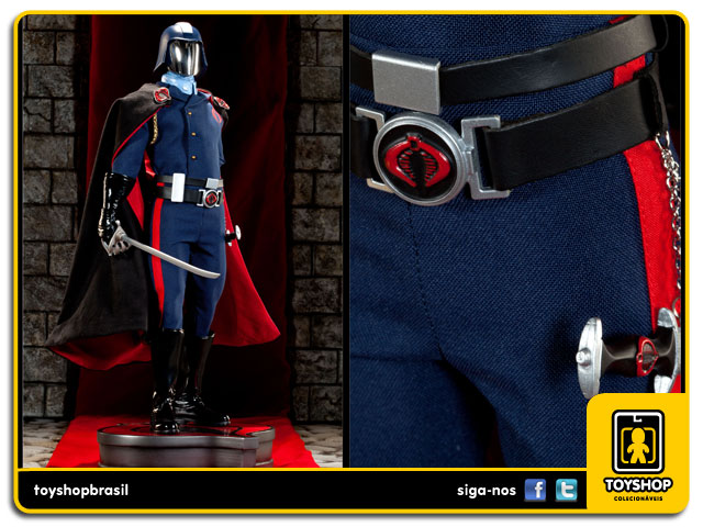 G.I. Joe: Estátua Cobra Commander Premium Format - Sideshow